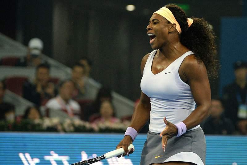 Serena Williams quase nas