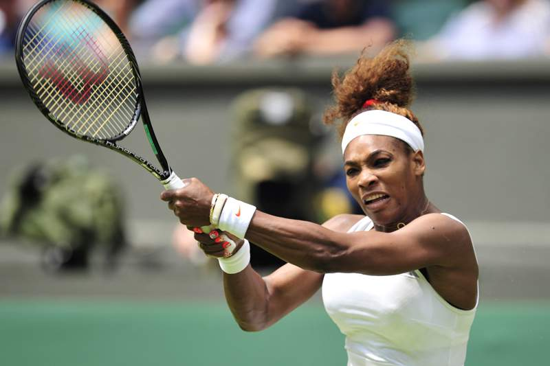 Serena Williams disputa final com romena Sorana Cirstea