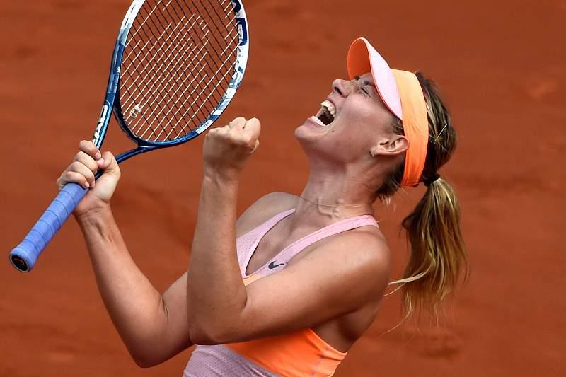 Sharapova vence Roland Garros