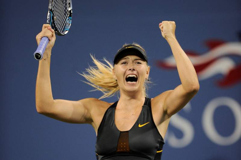 Sharapova nos quartos de final do US Open