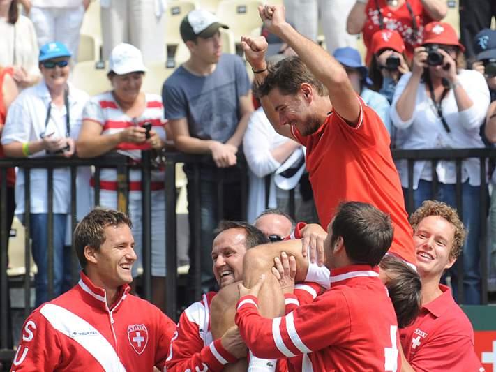 Suíça de Federer volta ao Grupo Mundial