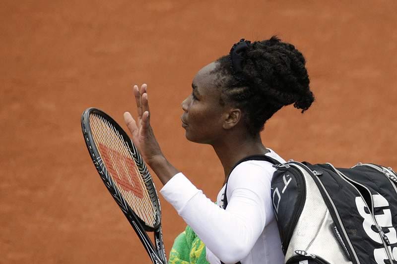 Venus Williams perde e já não se cruza com a irmã Serena