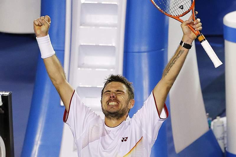 Wawrinka elimina Djokovic num jogo épico