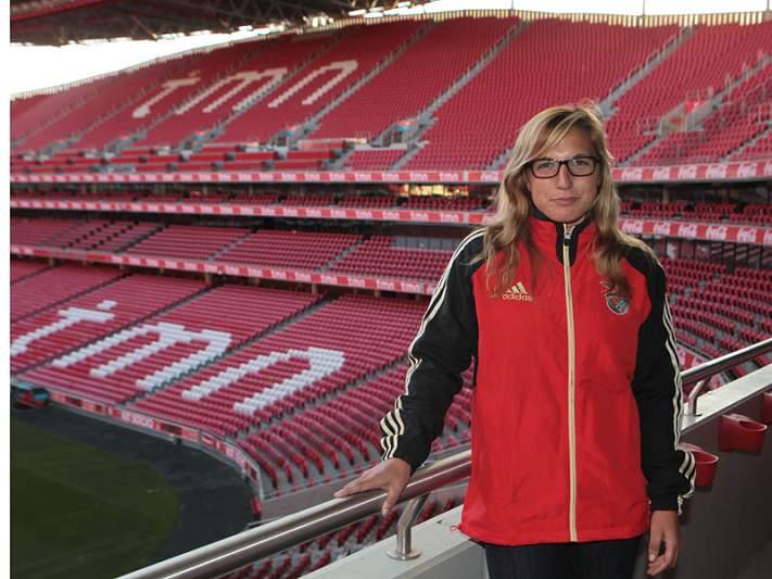 Teresa Portela reforça Benfica