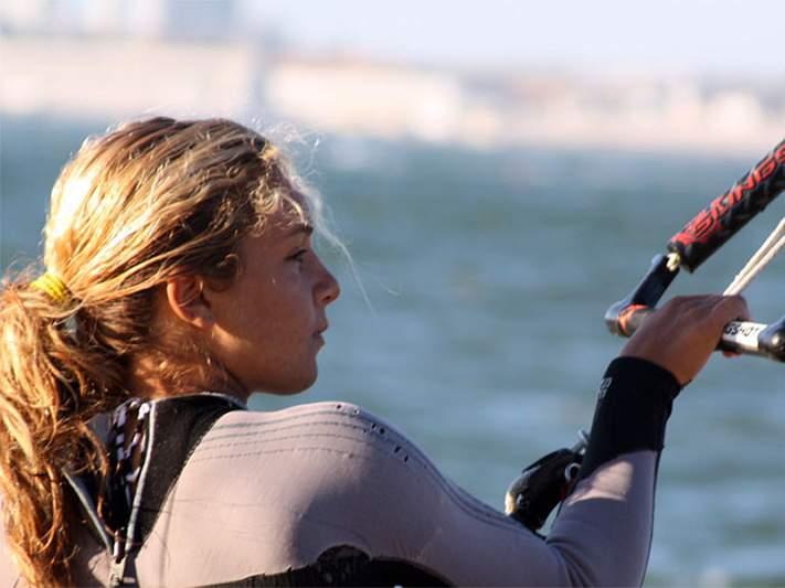Inês Correia lamenta que kitesurf permaneça fora dos Jogos Olímpicos