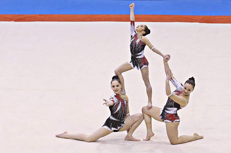 Trio Português termina qualificação de exercício dinâmico em 4º lugar