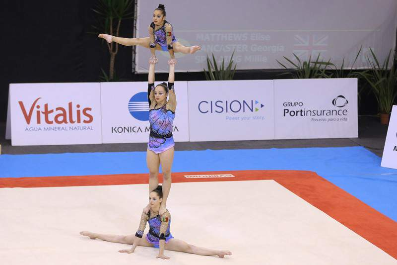 Trio Português apurado para a final em 4º lugar