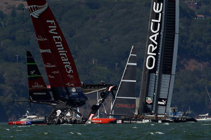 Oracle Team vence oitava regata da Taça América