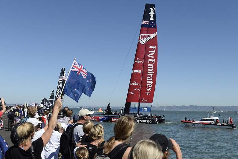 Team New Zealand a uma vitória do título