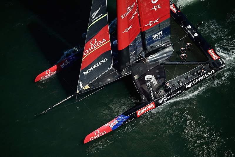 Team New Zealand bate mais uma vez o Oracle Team