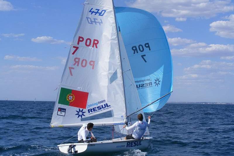 Dupla portuguesa ascende à 14.ª posição