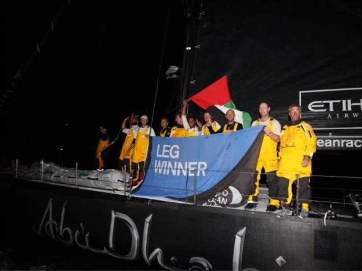 Abu Dhabi vence sétima etapa em Lisboa
