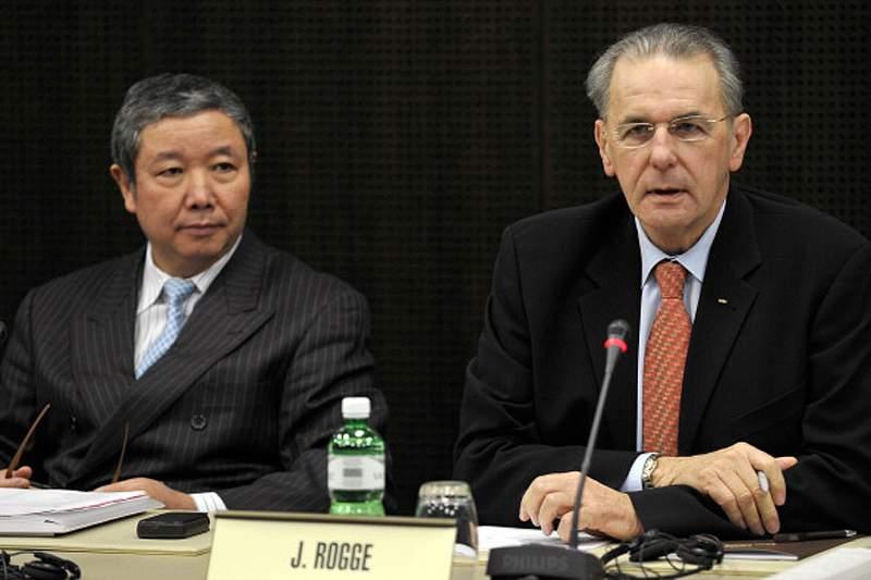 Vice-presidente do COI presente em Macau