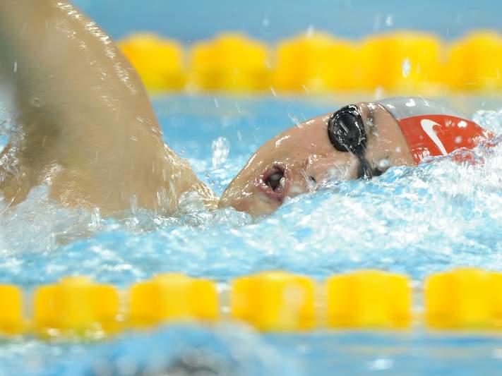 Janet Evans falha lugar na equipa norte americana