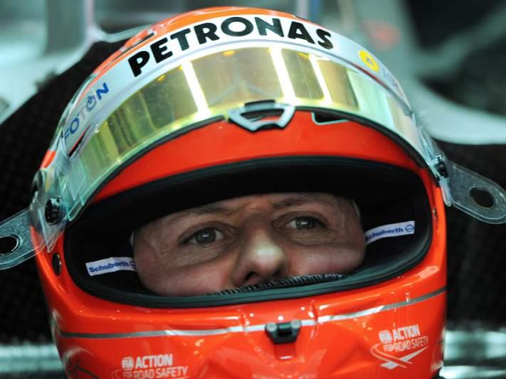 Schumacher nomeado embaixador de segurança da Mercedes