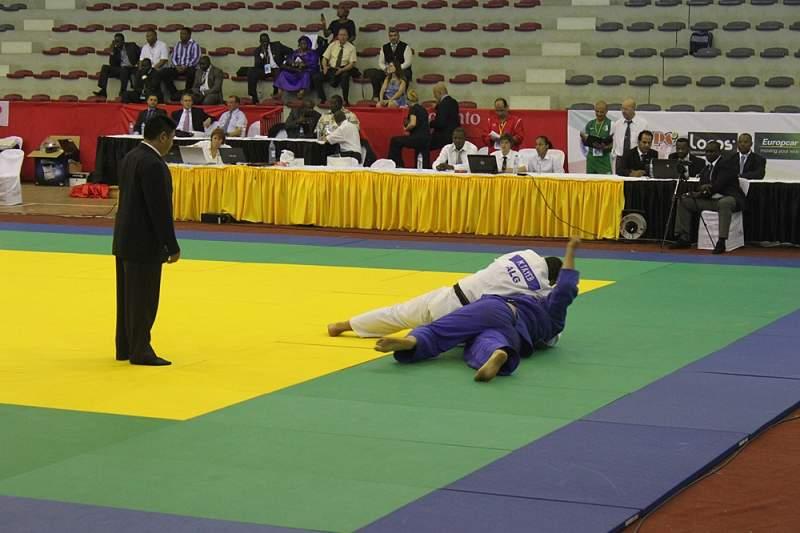 Estreia negra para os judocas moçambicanos