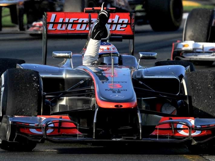 Jenson Button vence primeira prova do Mundial