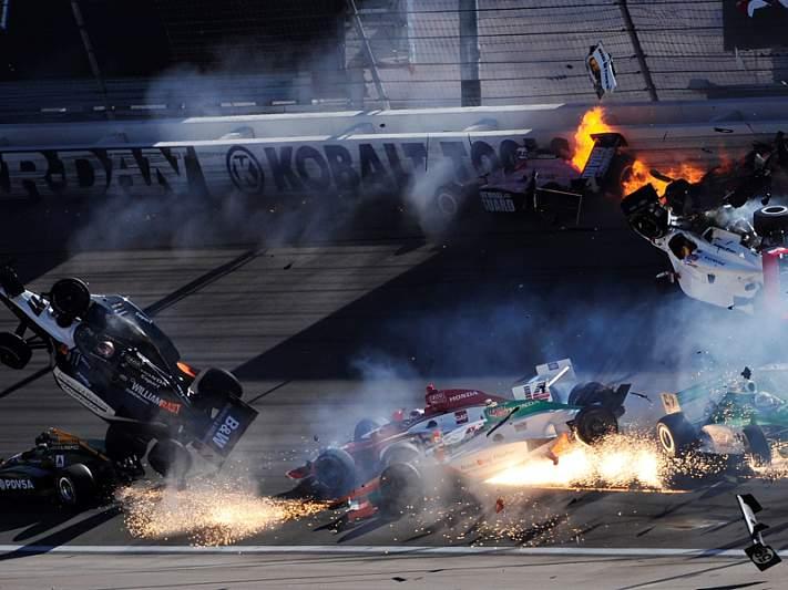 Já morreram 8 pilotos na Fórmula Indy