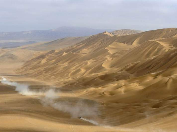 Piloto britânico morre no Abu Dhabi Desert Challenge