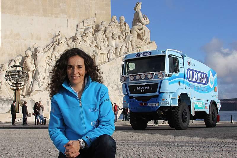 Elisabete Jacinto garante pódio de camiões