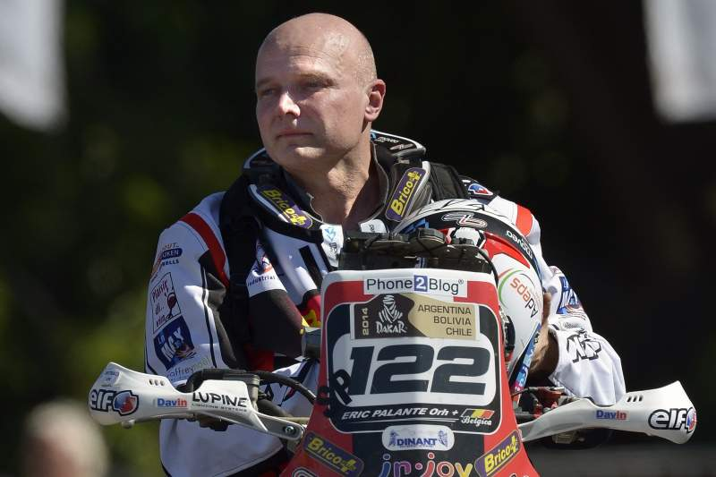 Morreu o piloto belga Eric Palante