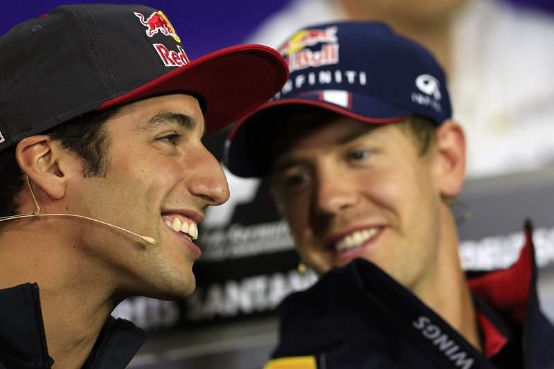 Red Bull confirma Ricciardo no lugar de Webber em 2014