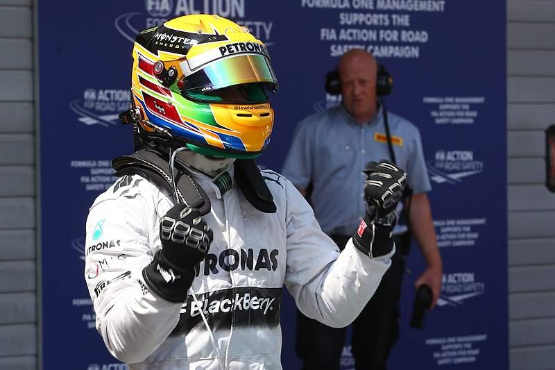 Hamilton na pole-position