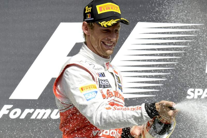 Jenson Button quer voltar ganhar o Mundial