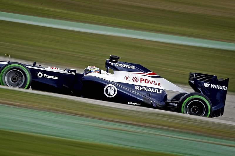 Williams multada por perda de roda nos treinos