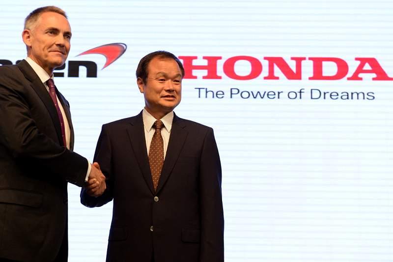 Honda e McLaren reeditam parceria de sucesso