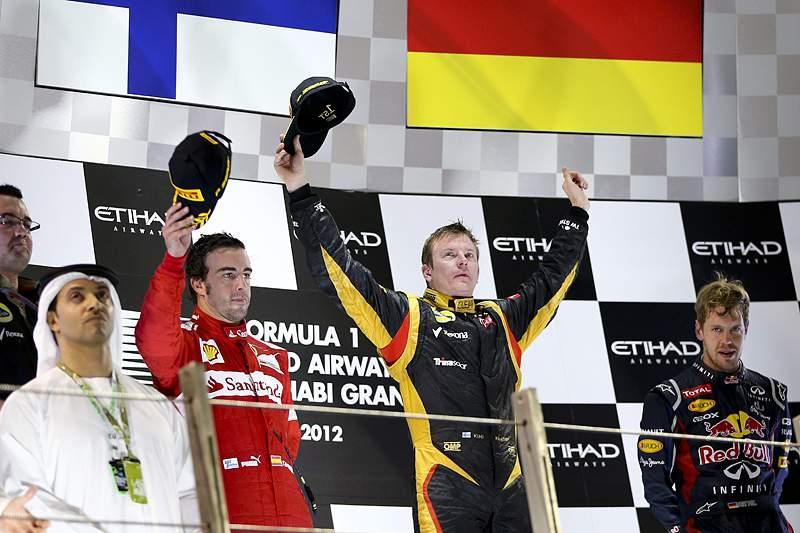 Raikkonen vence mas Vettel foi do outro mundo