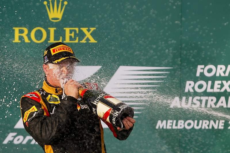 Kimi Raikkonen vence primeiro GP do Mundial