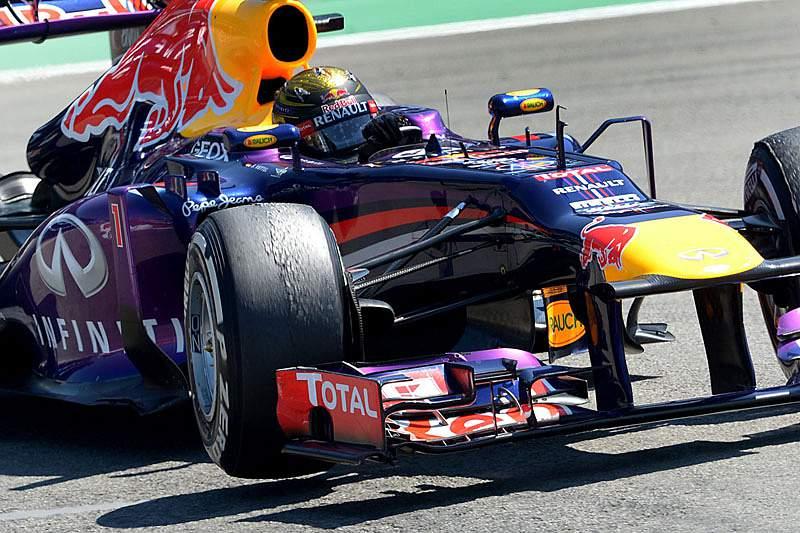 Vettel sem concorrência no primeiro dia de treinos na Hungria