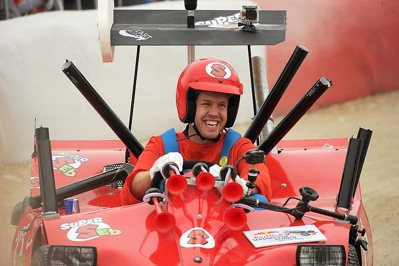 Sebastian Vettel em modo