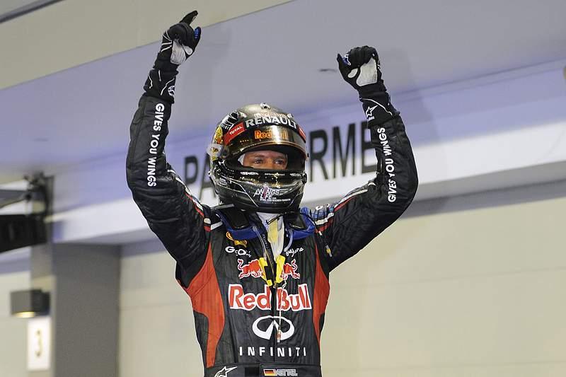 Sebastian Vettel conquistou