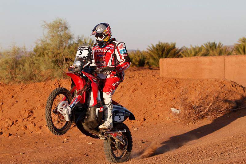 Hélder Rodrigues em recuperação no Rali de Marrocos