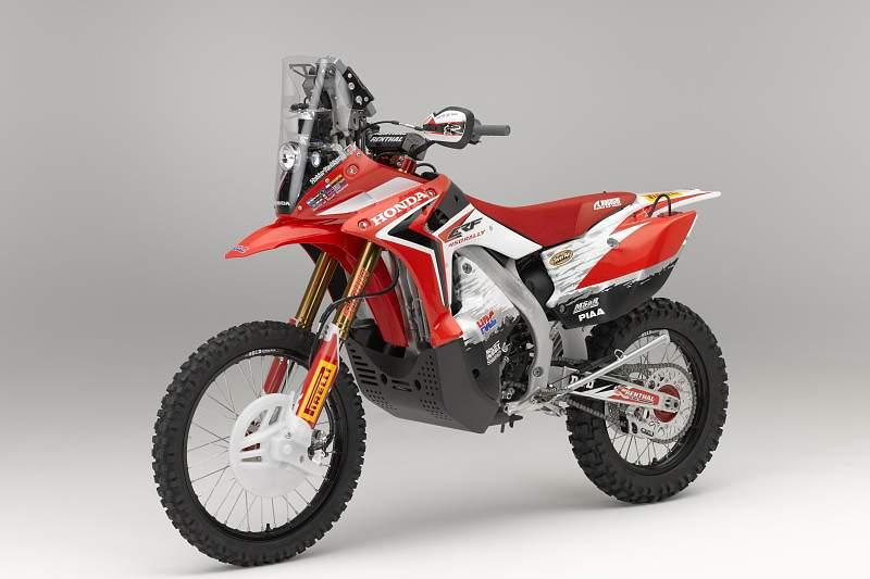 Honda apresenta CRF Rali Dakar no Salão de Colónia
