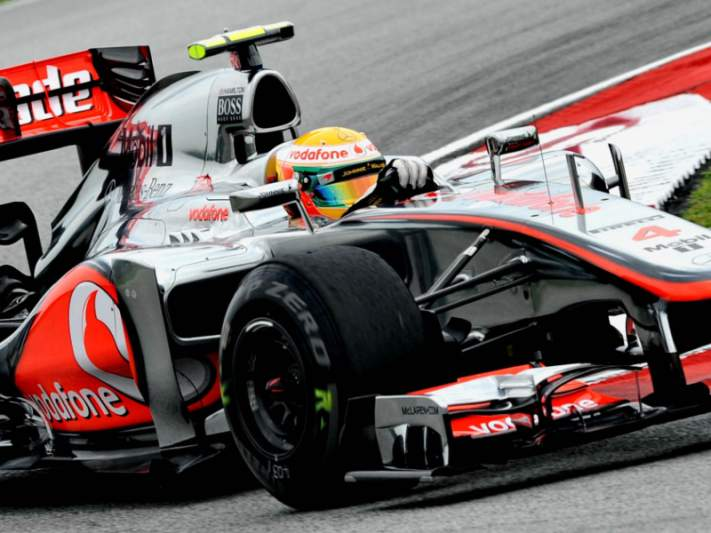 McLaren mais rápida do que dois Ferrari na segunda sessão de treinos