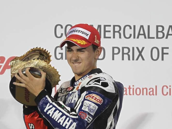 Triplete espanhol no GP do Qatar