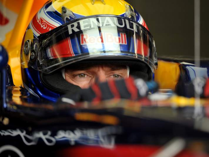 Mark Webber na pole do GP Mónaco