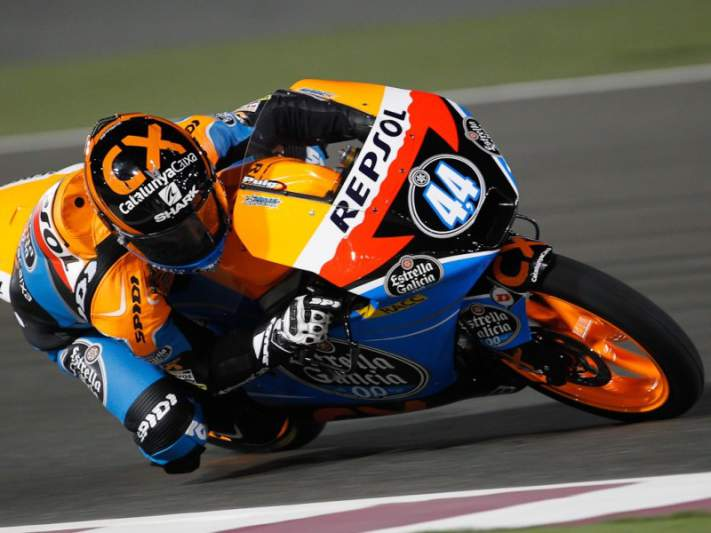Oliveira mais rápido nos dois treinos livres de Moto3