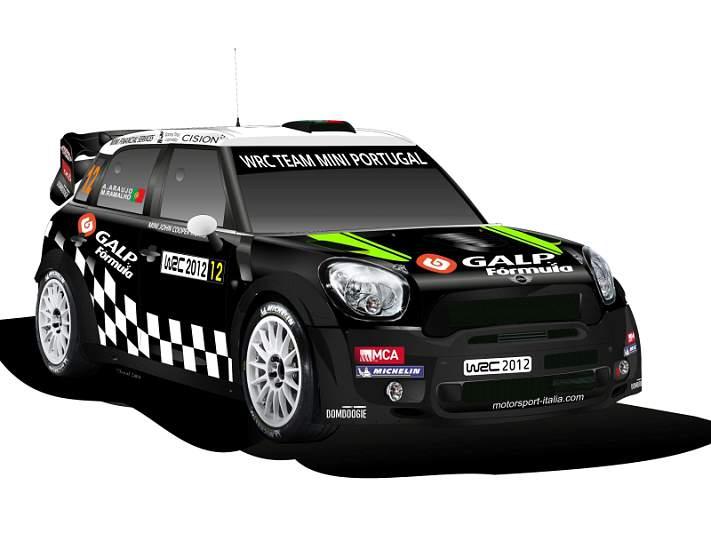 WRC TEAM MINI PORTUGAL estreia-se na neve