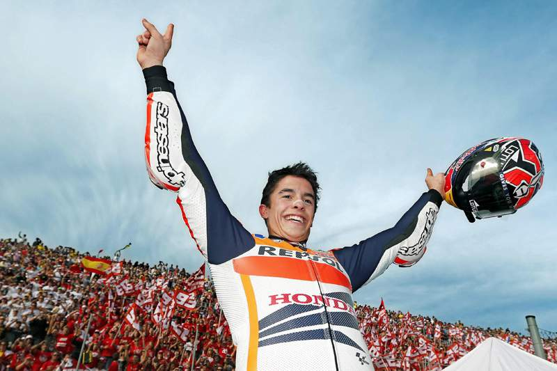 Marc Marquez conquista nova 'pole' em Itália