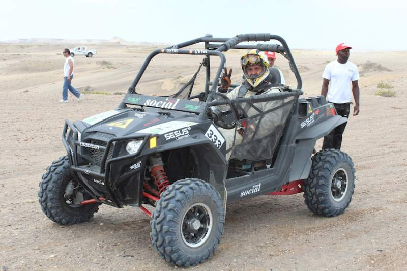 Social Team conquista deserto do Namibe