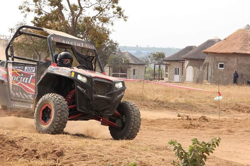 Rodrigo Morais segundo no Rali do Huambo
