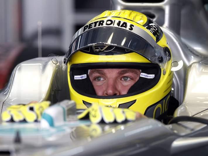 Rosberg foi o mais rápido