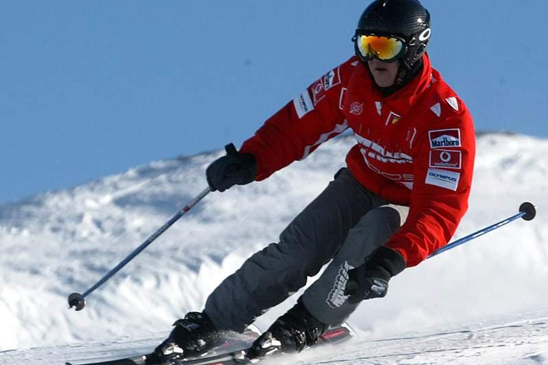 Schumacher sofreu acidente ao tentar ajudar uma criança