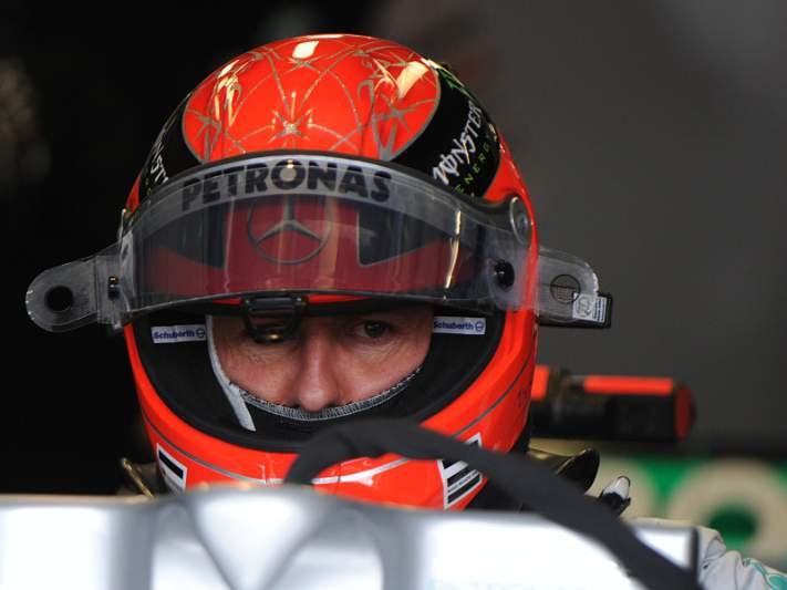 Ferrari manifesta apoio a Michael Schumacher