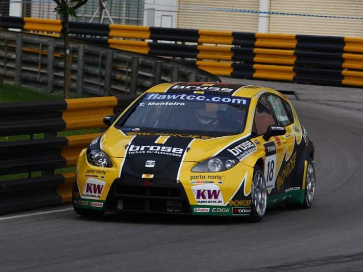 Tiago Monteiro liderou primeiros treinos livres da corrida de WTCC