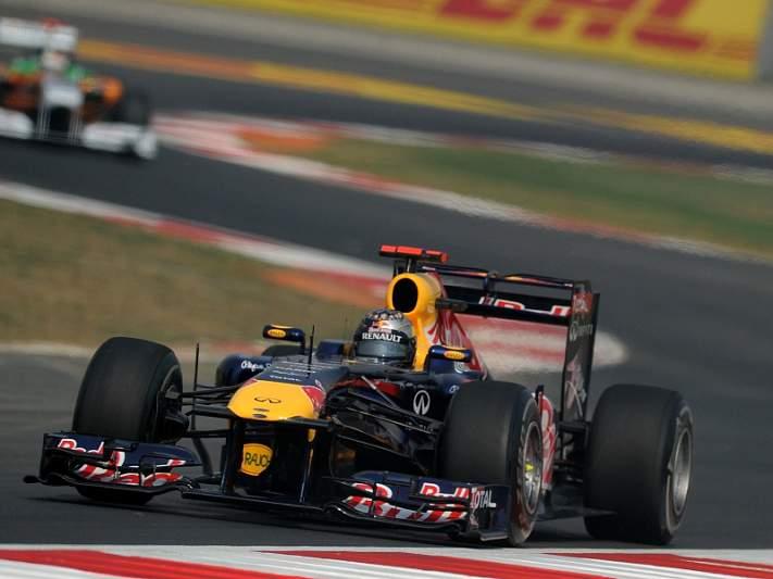 Vettel faz